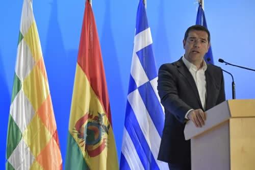 Tsipras: con Morales Bolivia ha liderado un milagro económico en los últimos 13 años