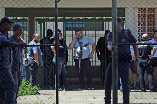 Un tercer joven sospechoso de la masacre en la escuela de Brasil se entrega a la Justicia