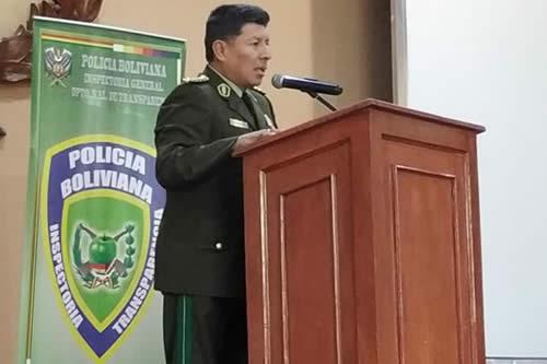 Comandante de la policía asegura que no se encubrirá a nadie en casos de corrupción