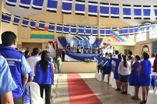 Morales garantiza hospital de segundo nivel para Ivirgarzama en su 50 aniversario