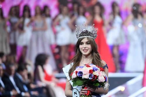 Alina Sankó, coronada como Miss Rusia 2019