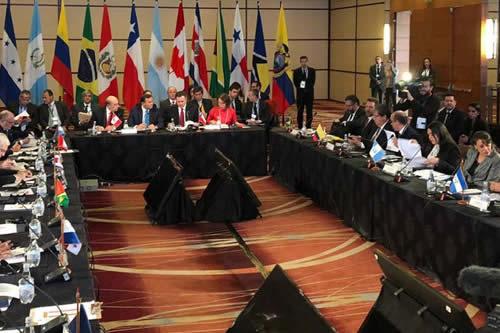 Grupo de Lima invita a Bolivia a que también pida elecciones en Venezuela