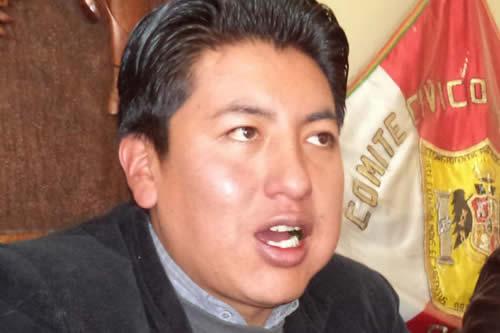 Cívicos de Potosí están preocupados por el Silala
