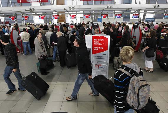 Caos en el aeropuerto de Sídney por problemas con las máquinas que controlan los pasaportes