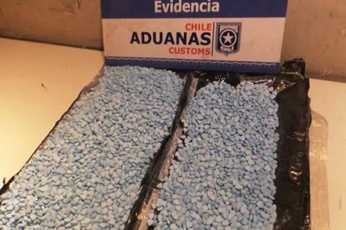 Boliviano cae con 6 mil pastillas de éxtasis en Chile