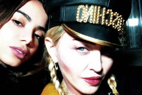 La brasileña Anitta celebra su primera colaboración con Madonna