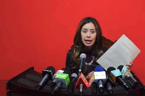 Presidenta de Comisión de Justicia de Diputados se excusa para no presidir juicio contra magistrado del TCP