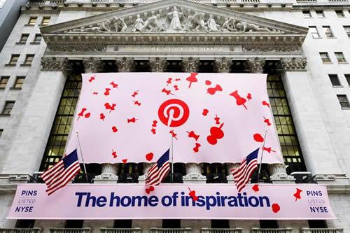 Pinterest sube un 28 % en su debut y se valora en 12.900 millones de dólares
