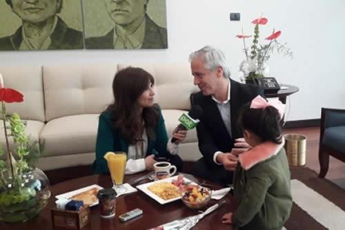 García Linera: tener un hijo es una de las decisiones más importantes que uno toma en su vida