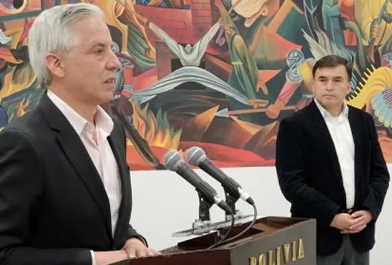 García Linera explicó en México el modelo boliviano que le permite liderar el crecimiento en Sudamérica