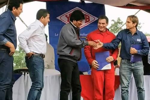 Morales confirma existencia de un reservorio gigante de gas en Bolivia tras perforación del pozo Boyuy X-2