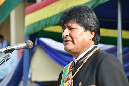 Morales invita a los bolivianos a comprometerse en el cuidado y protección de la Madre Tierra