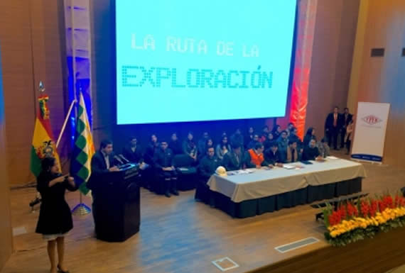 Morales anuncia inicio de exploración del pozo Mayaya en el norte de La Paz