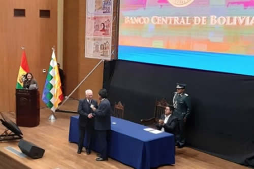 BCB pone en circulación nuevo billete de 200 bolivianos, último de la familia del Estado Plurinacional