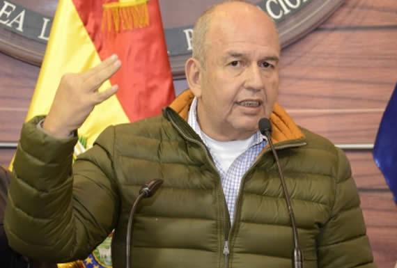 Murillo interpela a Mesa y le recuerda que en su gobierno no pudo garantizar la estabilidad de Bolivia