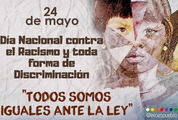 Morales ratifica compromiso de construir un país con igualdad y dignidad