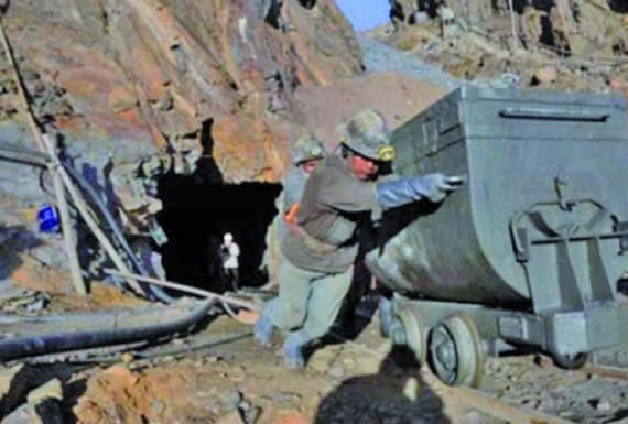Regalías mineras para Chuquisaca suman Bs 1,7 millones al primer trimestre del año