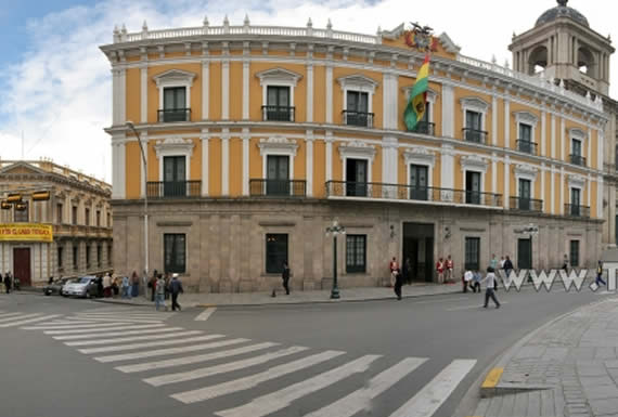 Otorgan Emblema Escudo Azul al Palacio Quemado para proteger ese patrimonio nacional