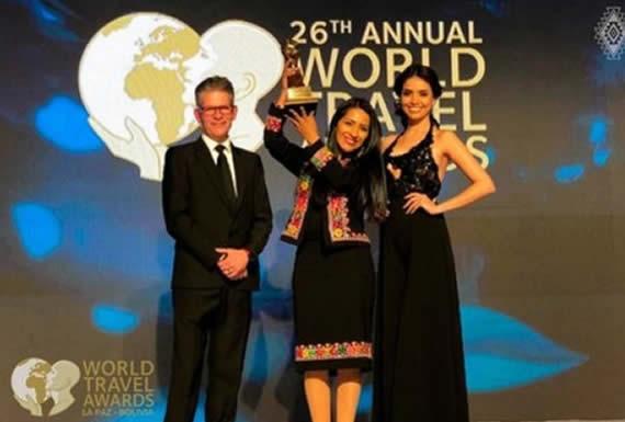Guerreros dice que los World Travel Awards generaron interés por los destinos turísticos de Bolivia