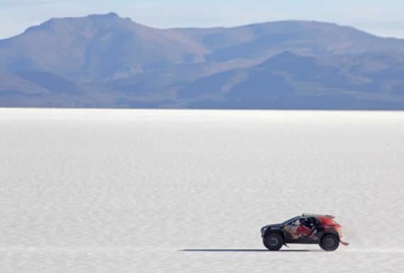 Morales saluda que el Salar de Uyuni continúe asombrando al mundo