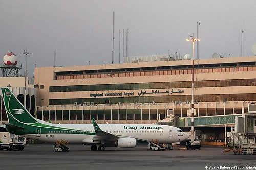 Tres cohetes impactan cerca del aeropuerto de Bagdad