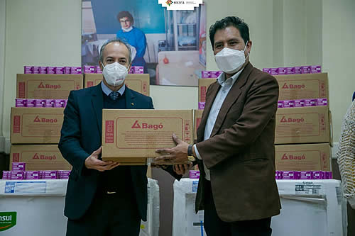 Laboratorios Bagó entrega al Ministerio de Salud medicamentos y equipamiento para fortalecer la cadena de frío