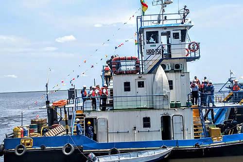 Registro internacional boliviano de buques generó $us 522.000 de enero a julio de este año