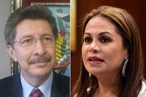 Denuncian a Sánchez Berzaín y Roxana Lizárraga por sedición y terrorismo