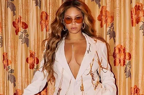 Beyoncé se pone un collar con una palabra rusa: ¿qué significa?