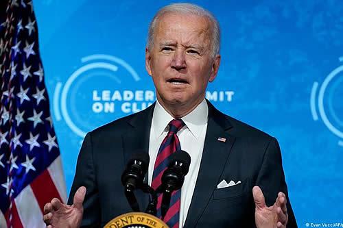 Biden anuncia drástico compromiso para frenar cambio climático