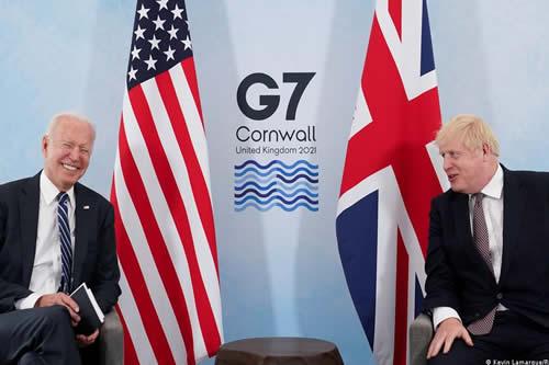 Cambio climático y pandemia son los dos grandes temas de la cumbre del G7 en Cornwall, Gran Bretaña