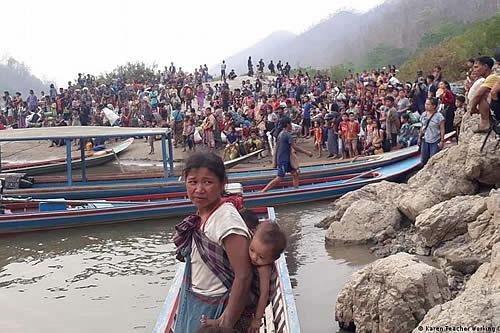 Bombardeos en Birmania dejan más de 12.000 desplazados, según grupo insurgente