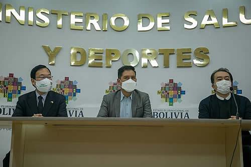 Japón anuncia donación de equipamiento y fortalecimiento en salud para la lucha contra el COVID-19 en Bolivia