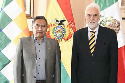 Bolivia se reúne con México para afianzar relaciones bilaterales y reactivar su participación en la Celac