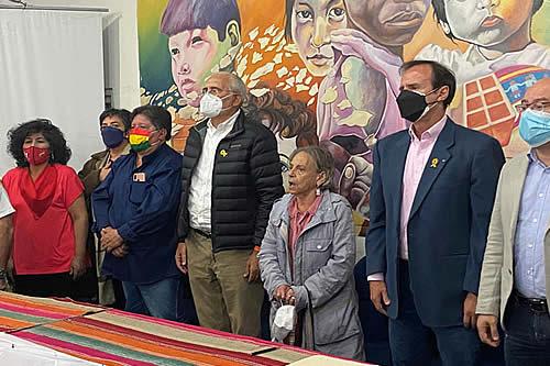 Encendidos discursos: Opositores rindieron homenaje a los 39 años de democracia