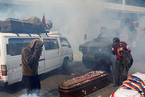 Presidente del Senado de Bolivia confirma que la CIDH investigará la masacre de Senkata de 2019