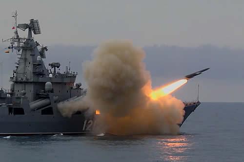 La Armada de Rusia dispara por primera vez el misil antibuque Vulkán durante un ejercicio en el mar Negro