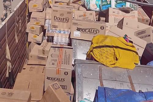 Aduana reporta comiso de productos de contrabando por Bs 263 millones hasta julio