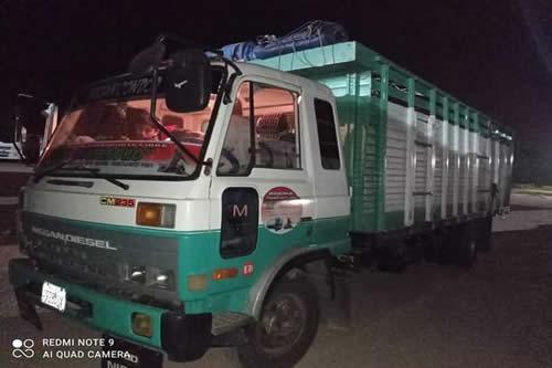 Reportan el decomiso de un camión con productos agrícolas de contrabando en Tarija