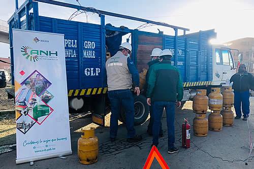 ANH garantiza normal abastecimiento de combustibles y GLP
