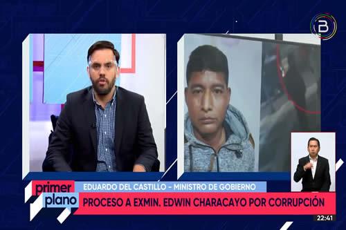 Allanamientos a viviendas de Characayo y García encuentran equipos del Ministro de Desarrollo Rural y Tierras
