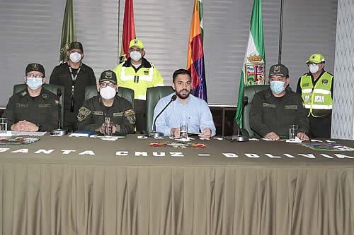 Ministro de Gobierno presenta plan de seguridad para la Feria Exposición de Santa Cruz