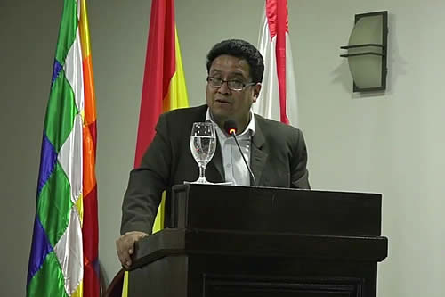 Viceministro Siles: Existen nueve realidades para encarar la reforma judicial en Bolivia a partir de un plan común