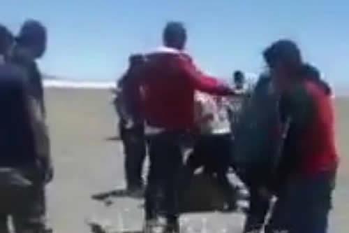 "Formalizan denuncia en contra de ""chuteros"" que agredieron a militares en Oruro"
