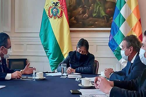 CNC entrega a Choquehuanca propuesta para crear una nueva política regulatoria