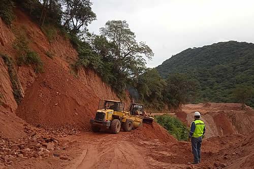 Gobierno destina Bs 212,9 millones para reactivar proyectos de construcción de carreteras en Tarija
