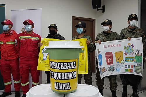 Día de la Madre Tierra: Policía Boliviana realiza campañas de limpieza en todo el país