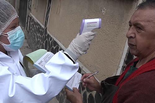 Los municipios de Tarija, Santa Cruz de la Sierra y Cobija continúan con riesgo alto de contagio