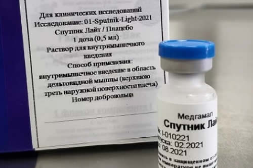 Bolivia inicia gestiones para fabricar la nueva vacuna rusa Sputnik Light