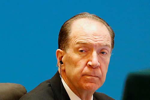"""El presidente del Banco Mundial asegura que el coronavirus """"ha empujado"""" a 100 millones de personas a la pobreza extrema"""
